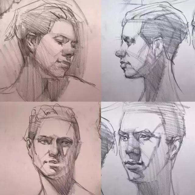 kevinwueste 素描人物的练习