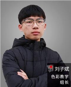 色彩教学组长 | 刘子斌